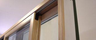 Изготовление деревянных оконных рам