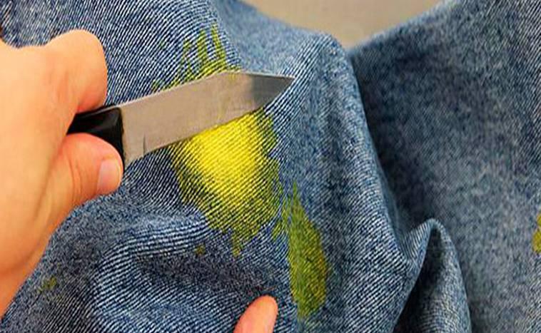 Как легко отстирать акриловую краску с одежды
