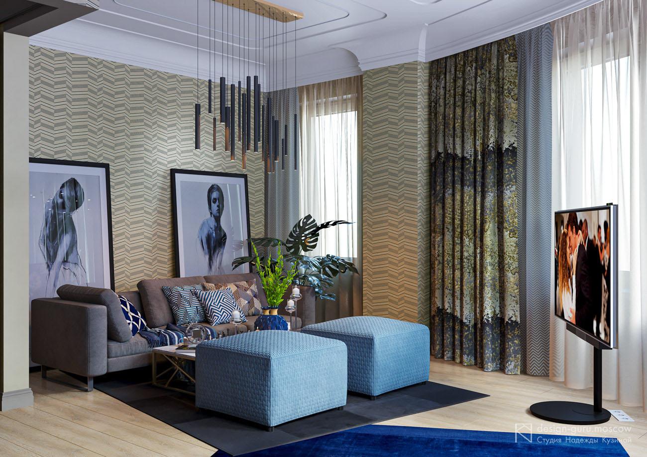 Дизайн интерьера в москве и области