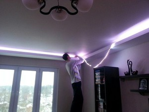 световая лента для потолка