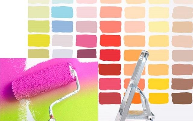 Водостойкая водоэмульсионная краска: термостойкая краска для внутренних работ, характеристики составов