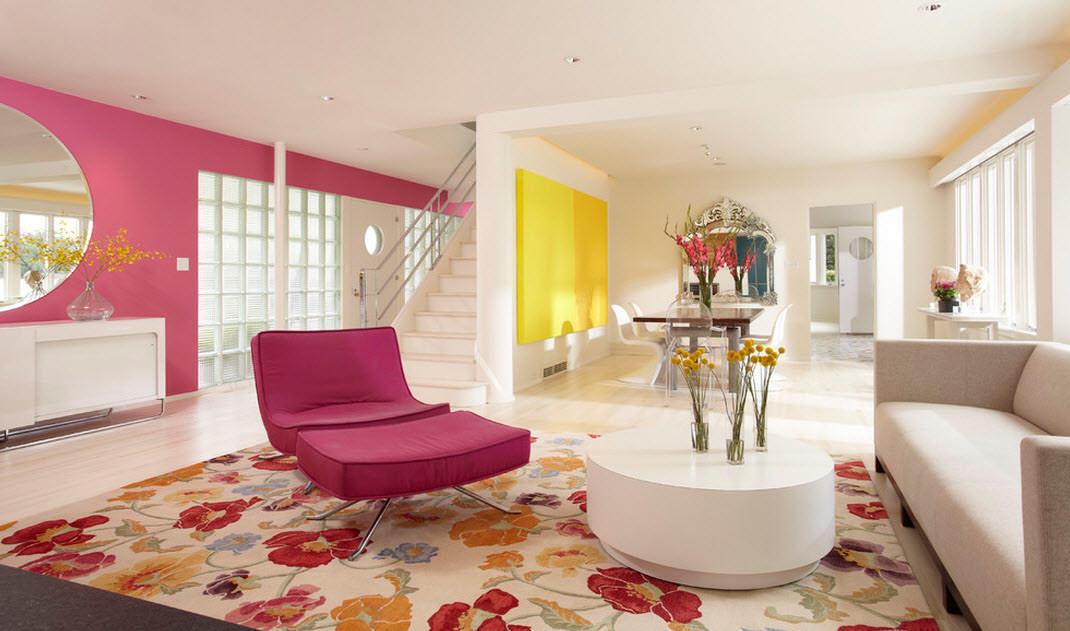 Розовые обои: в интерьере, какие подойдут, фон, с какими сочетаются, фото, цвет белый в комнату, шторы серо розовые в спальню, видео розовые обои: нежный цветовой интерьер – дизайн интерьера и ремонт квартиры своими руками