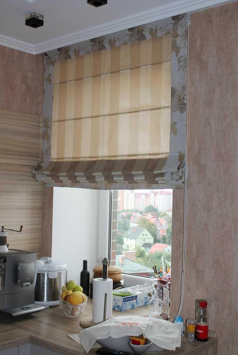 шторы на кухню классика фото дизайн