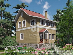 планировки домов двухэтажных