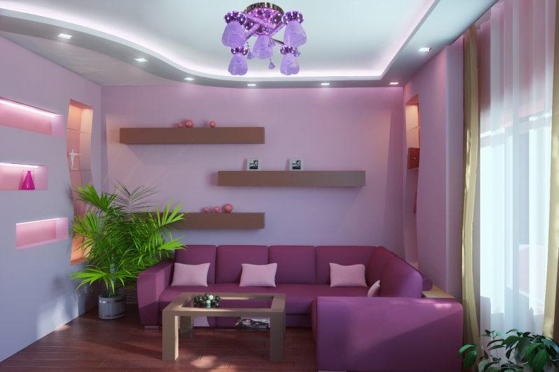 Сиреневая спальня (75 фото) идеи дизайна интерьера в розово-сиреневых тонах, сочетание разных оттенк - stanremont.ru