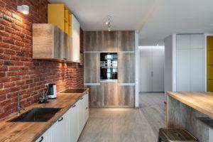 Кухня в стиле лофт в квартире: 7 элементов и 103 фото