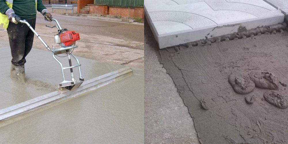Сколько стоит залить куб бетона вручную: работа по фундаменту