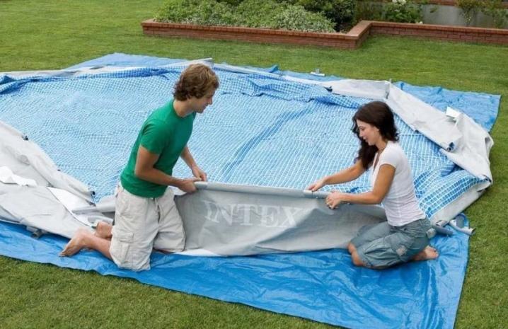 Монтаж надувного бассейна, установка надувных бассейнов на даче: полезные советы, чтобы установить бассейн на даче - morevdome.com