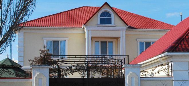 Крыша синего цвета: фото лучших вариантов