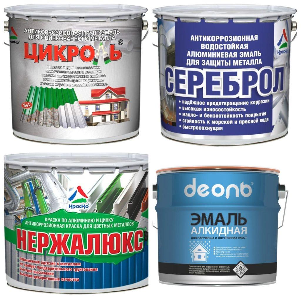 Краска по оцинковке: какую выбрать для металлической крыши и как покрасить железо