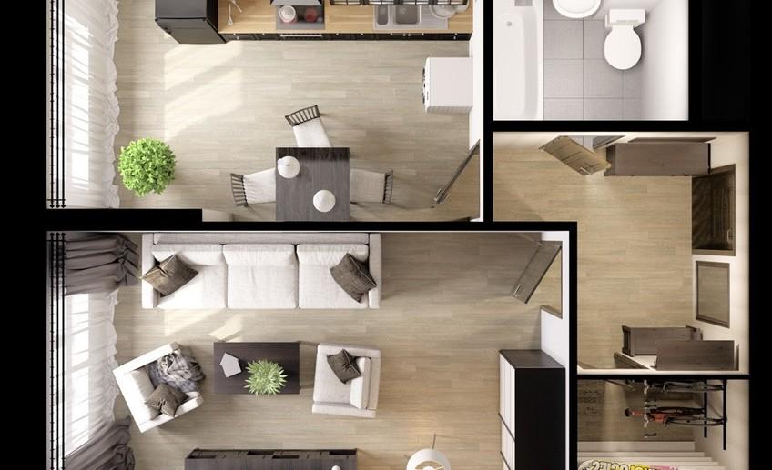 Жилое помещение - жилая комната - жилая площадь