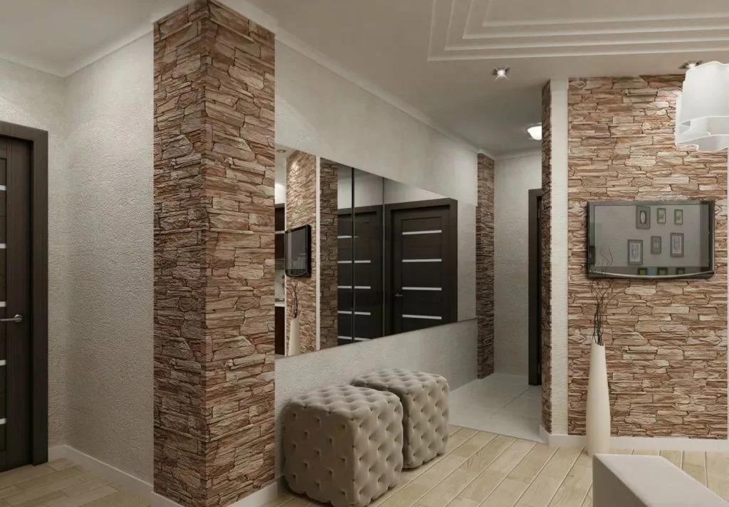 Как выбрать стеновые панели для коридора - виды и разнообразие материала