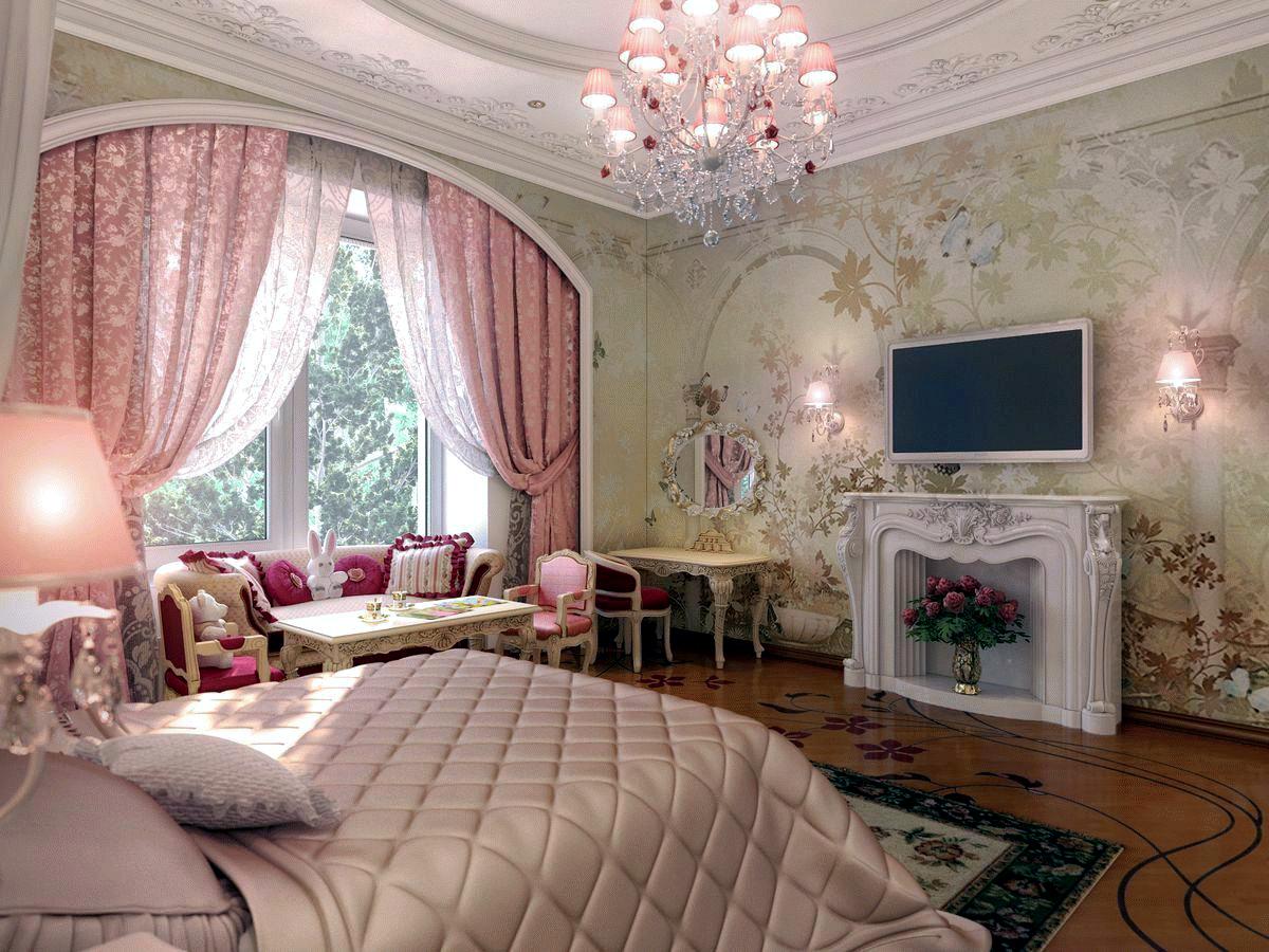 каким цветом покрасить стены в спальне