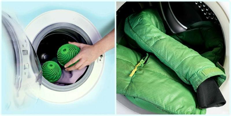 Как стирать пуховик с шариками в стиральной машине