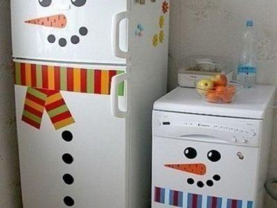Как и чем можно покрасить холодильник своими руками в домашних условиях