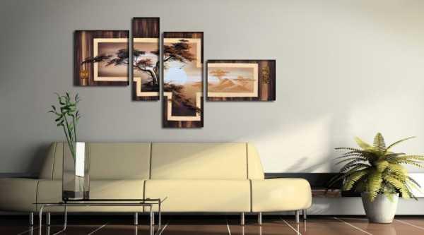 Панно на стену: что это такое, определение для детей, виды и как его делать из фотографий и картин в гостиной и в зале  - 31 фото