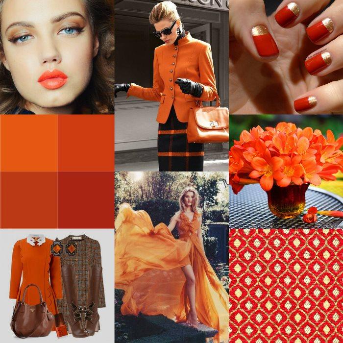 Терракотовый цвет в одежде: варианты сочетания