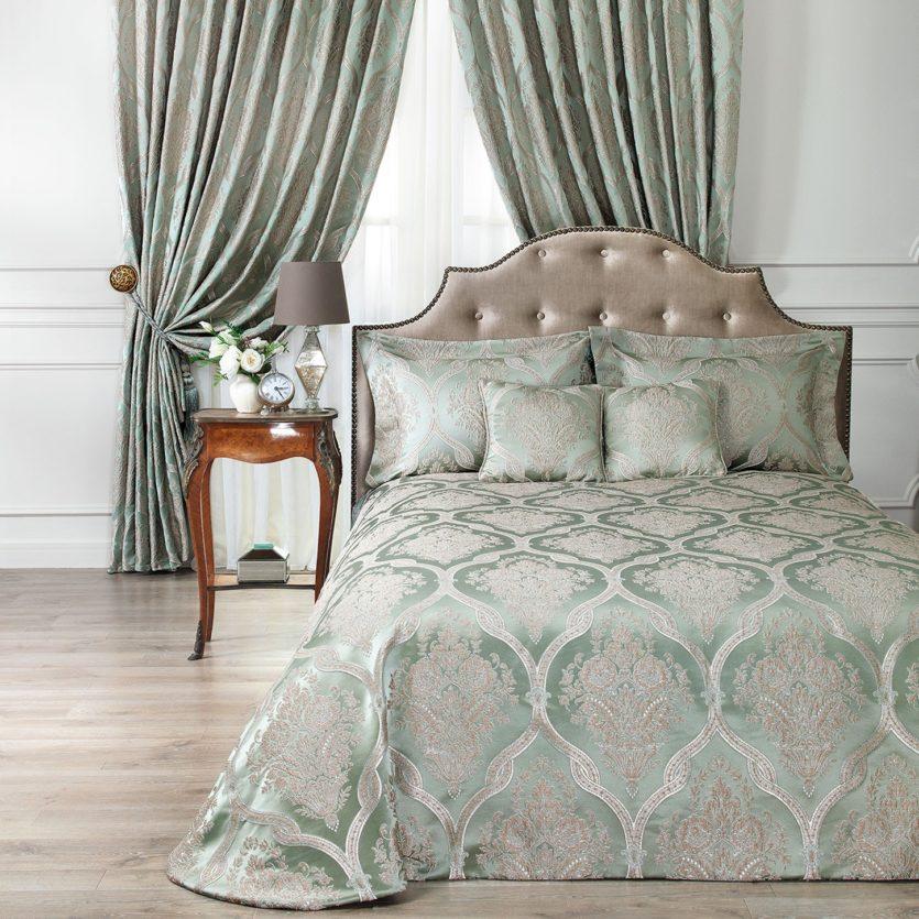 Покрывало на кровать в спальню - лучшие варианты дизайна (120 фото)