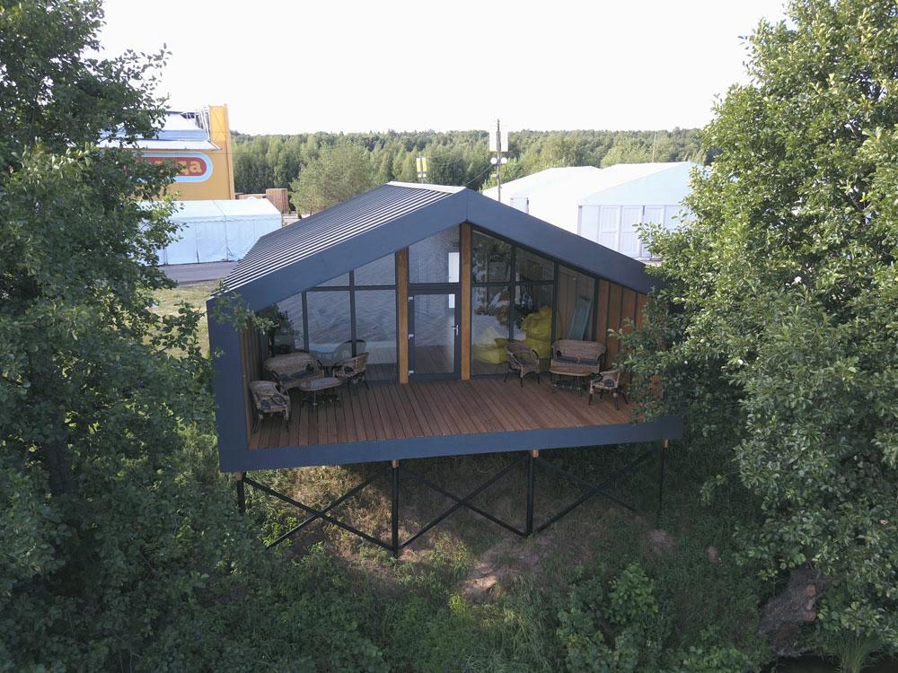 «дубльдом»: описание модульных домов, плюсы и минусы, конструктивные особенности