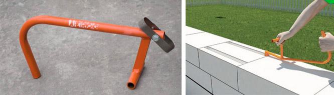 Инструменты для работы и кладки газобетона и как их применять | o-builder.ru