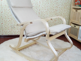 кресло качалка ikea