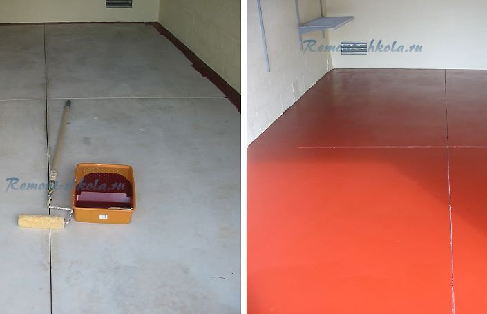 какой краской покрасить пол в комнате