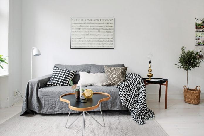 Покрывало на диван: разновидности и модные тенденции