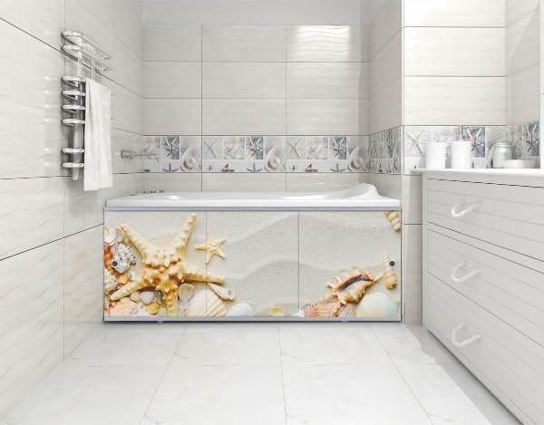 Как сделать экран под ванну из плитки своими руками