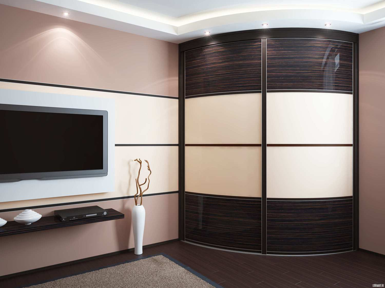 Шкаф-купе в гостиную — примеры эффектного интерьера (70 фотографий)