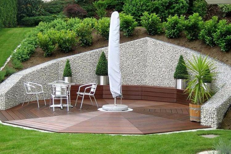 красивый сад ландшафтный дизайн