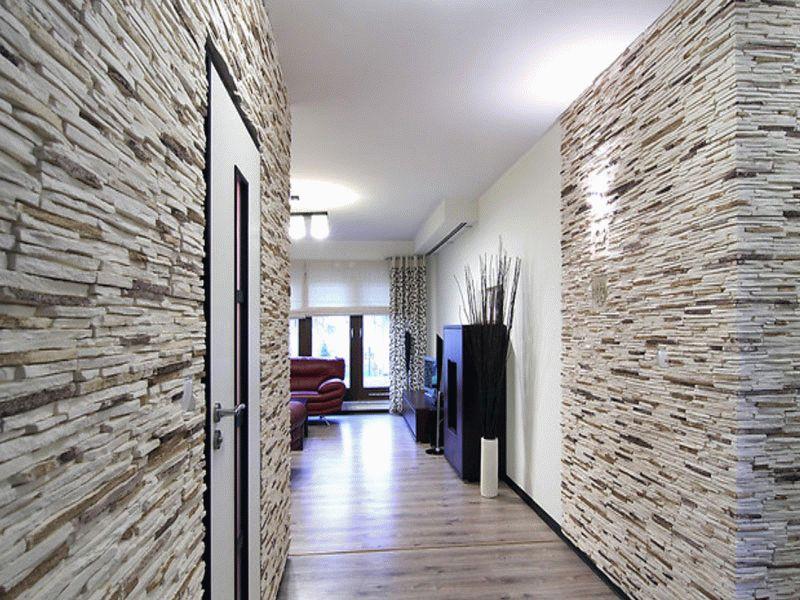Декоративный камень в интерьере (90 фото) - дизайн, красивые идеи