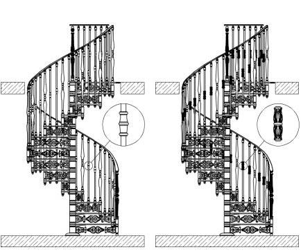 круглая лестница