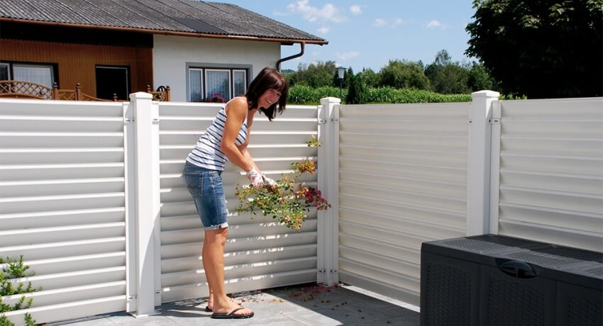 Деревянный забор жалюзи своими руками | «mz»
