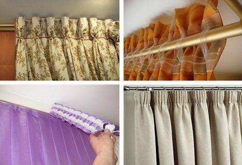 Как вешать тюль на шторной ленте на крючки, как правильно вешать занавески и шторы: видео, фото