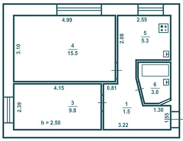 Планировка 3-комнатной квартиры в панельном доме: типовые планы трехкомнатной квартиры в девятиэтажках, виды и примеры проектов
