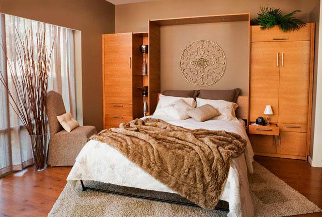 кровать трансформер для малогабаритной комнаты