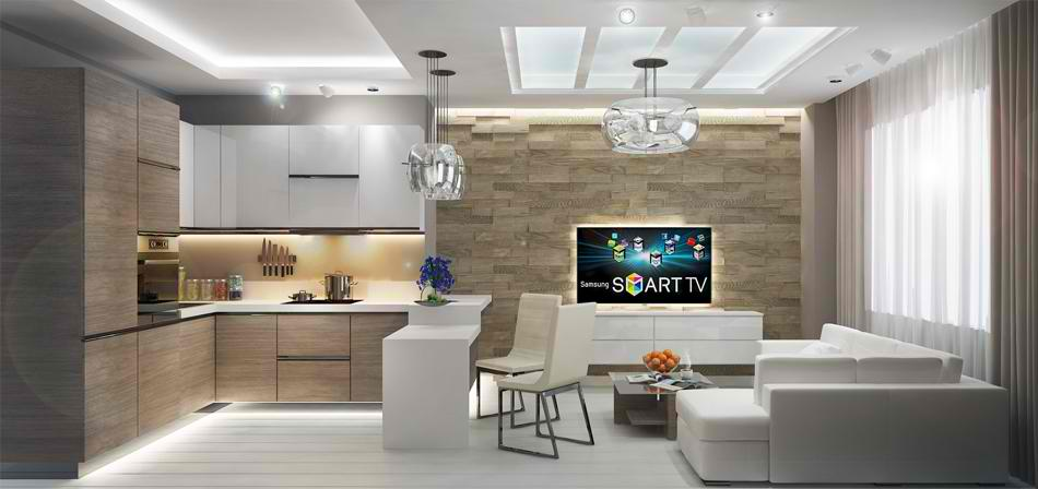 Дизайн двухкомнатной квартиры 50 кв. м (50 фото): проект интерьера маленькой квартиры с двумя комнатами