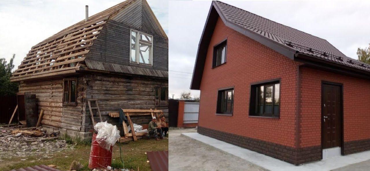 старые дома в деревне