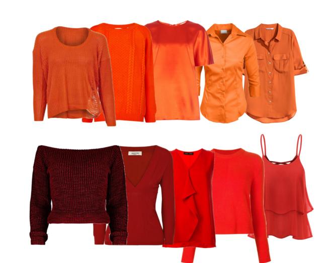 Модный оранжевый цвет в вашем гардеробе