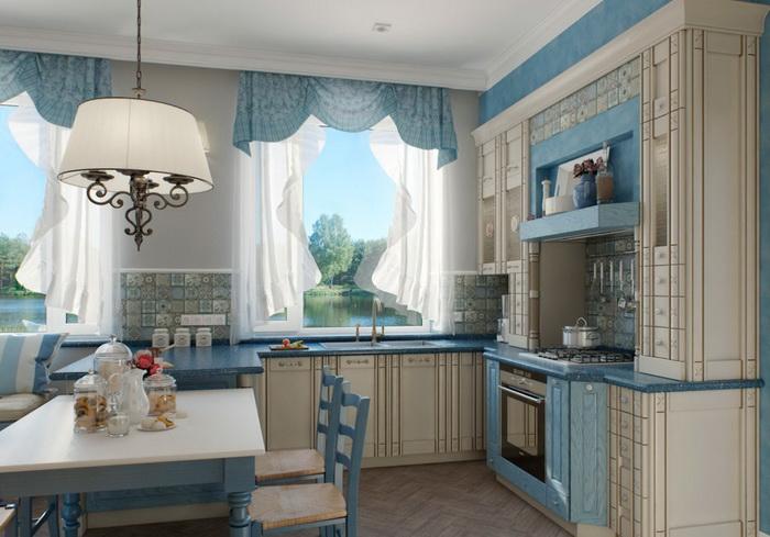 Голубые обои для стен: фаворит природных акцентов в домашнем интерьере