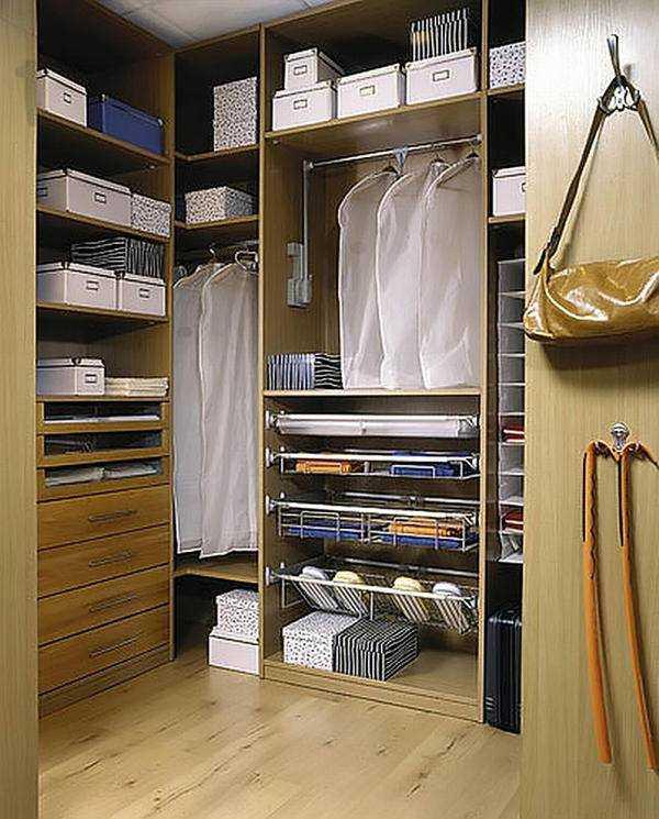 гардероб размеры