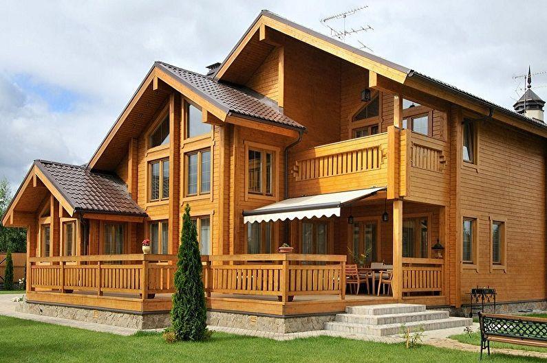 Небольшие двухэтажные дома: фото стильных вариантов