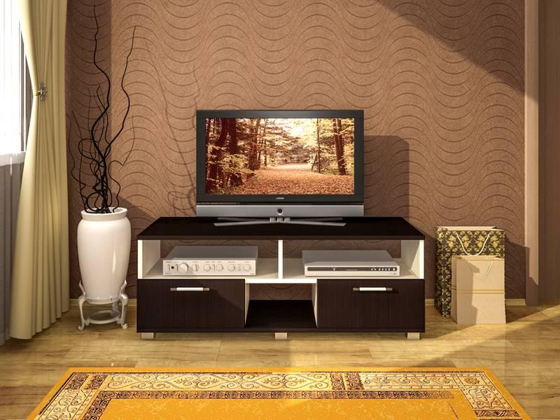 Длинная тумба под телевизор — виды и устройство современных моделей