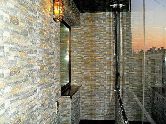 как оформить балкон внутри фото