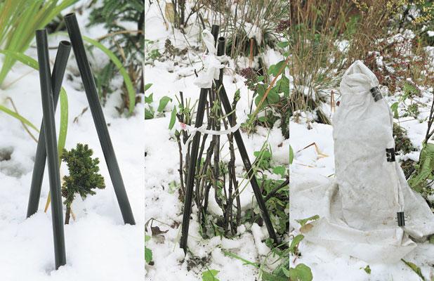 10 подручных материалов для зимнего укрытия растений - огород, сад, балкон - медиаплатформа миртесен