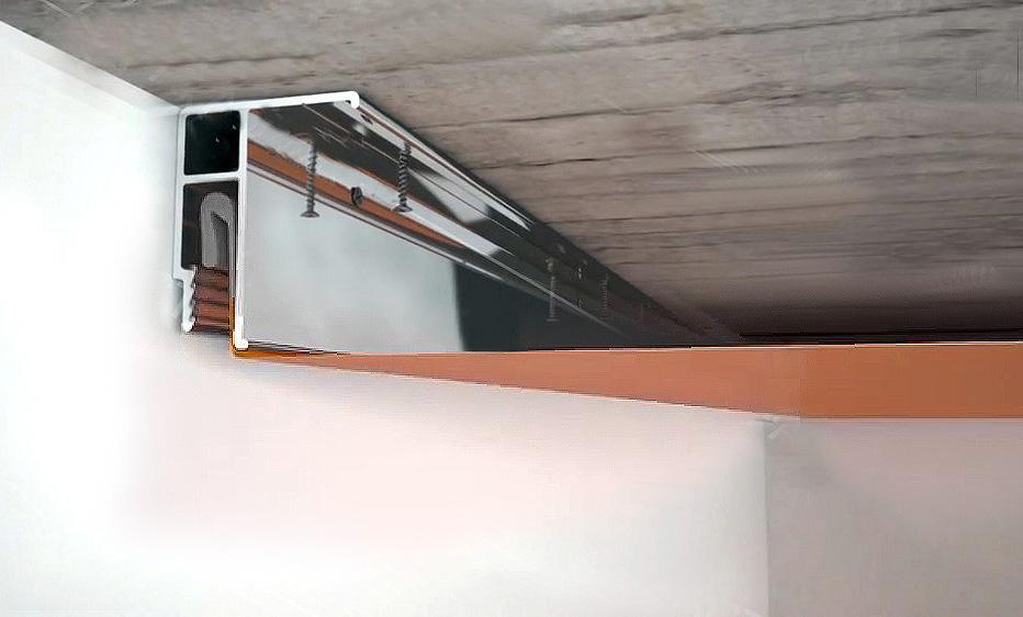 На сколько опускается натяжной потолок, как уменьшить его высоту | 5domov.ru - статьи о строительстве, ремонте, отделке домов и квартир