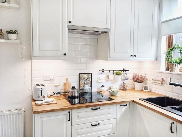 Кухни ikea с фасадами «будбин» в реальном интерьере