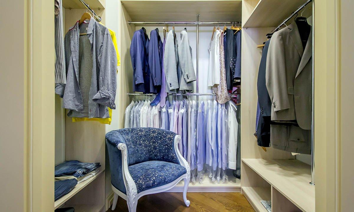 фото гардеробных комнат в квартире