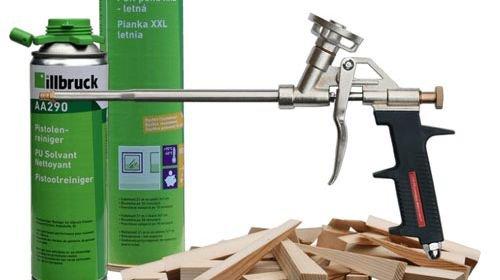Пистолет для монтажной пены - как выбрать и пользоваться