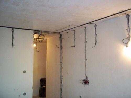 Проводка по полу в квартире: порядок прокладки